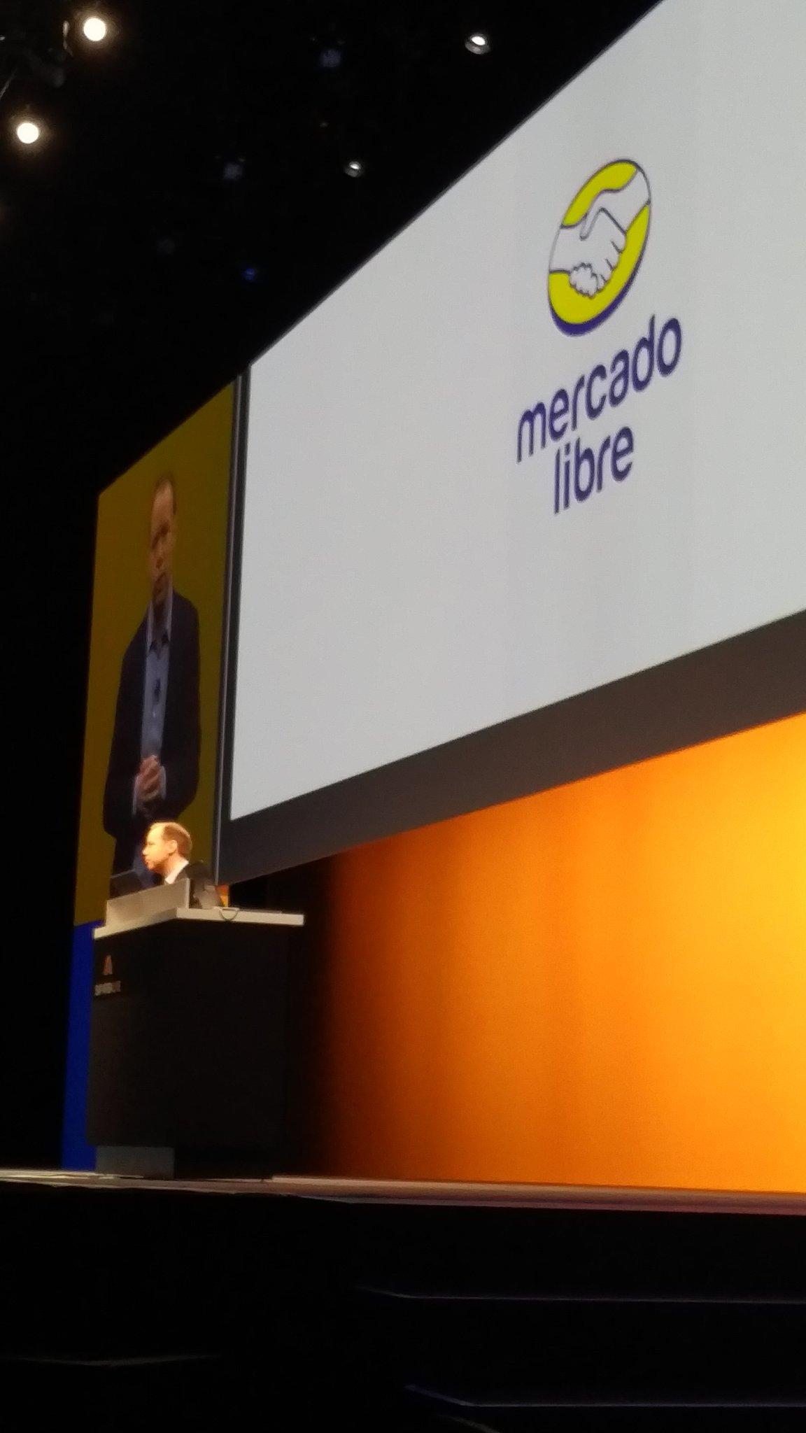 Spot buy doing wek says @Atzberger -  @Mercadolibre on the platform. #SAPARIBALIVE https://t.co/w0K5tXVXgQ