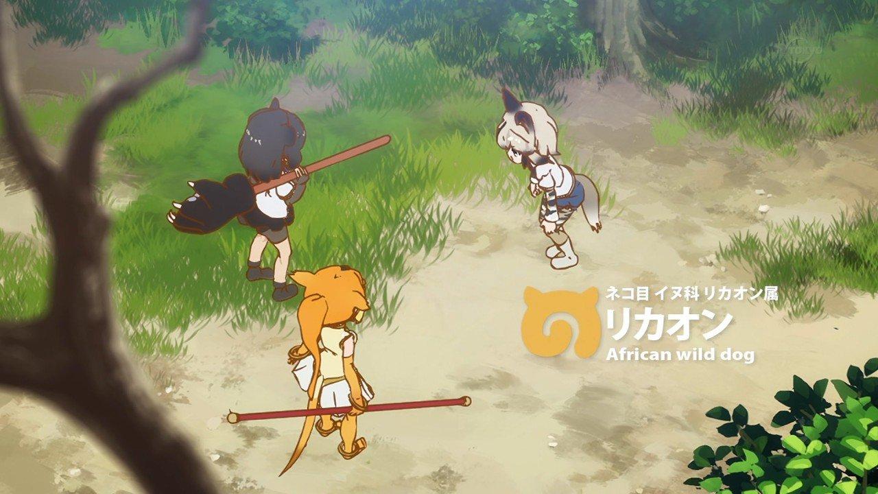 リカオン #kemono_friends #kemo_anime #けものフレンズ #けもフレ #tvtokyo https://t.co/xPfcyzY5OF
