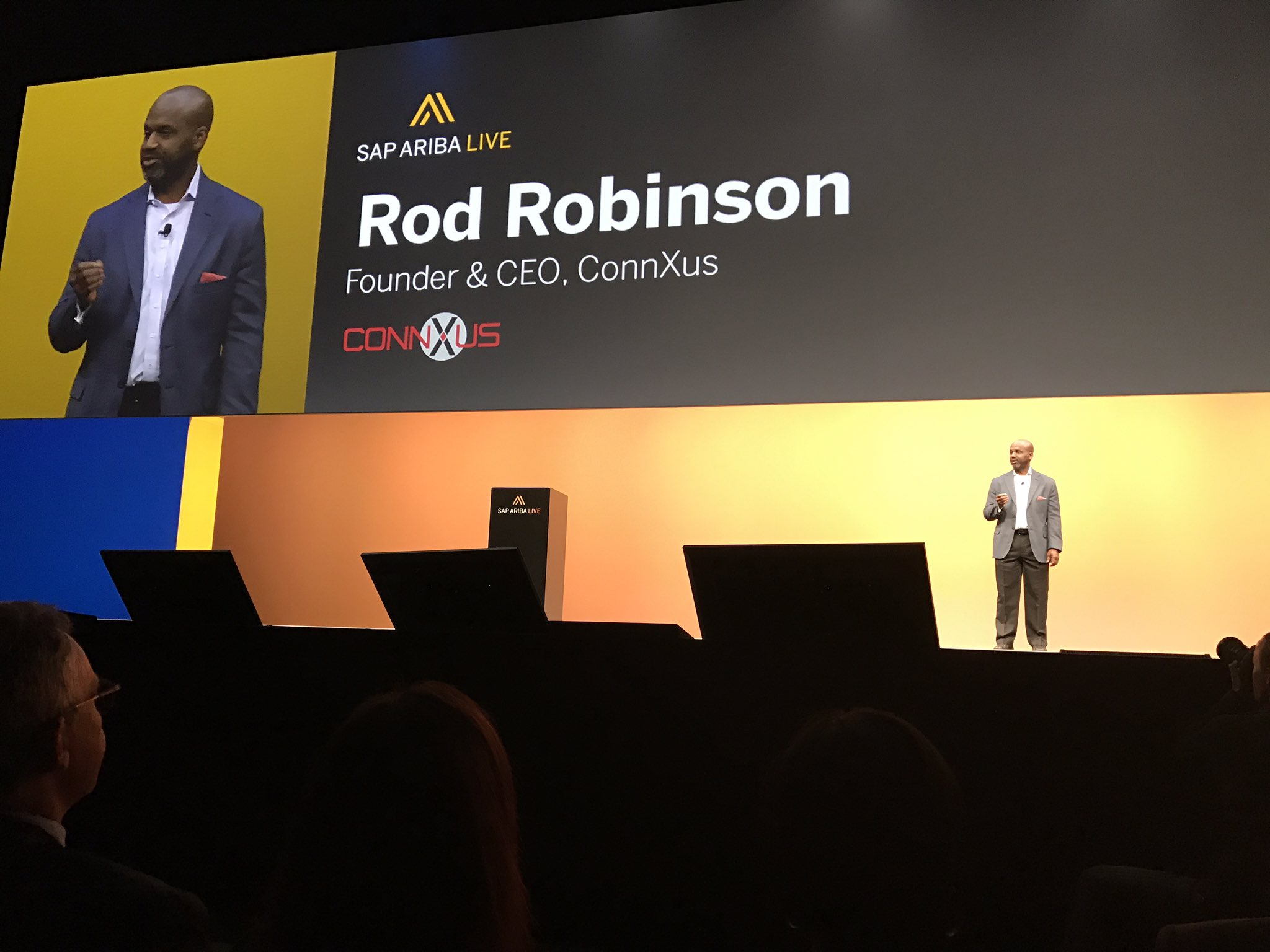"""""""Together we will make inclusive procurement awesome"""" Making global supply chains more diverse & inclusive @ConnXus #SAPARIBALIVE https://t.co/HEkjekfLv4"""