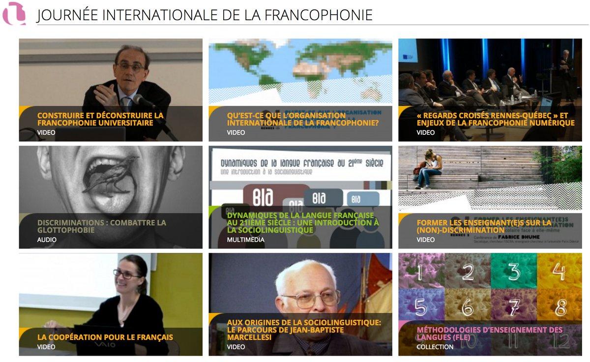 Focus #francophonie 🇫🇷 sur notre webmédia > https://t.co/uBFaeBWpNa...