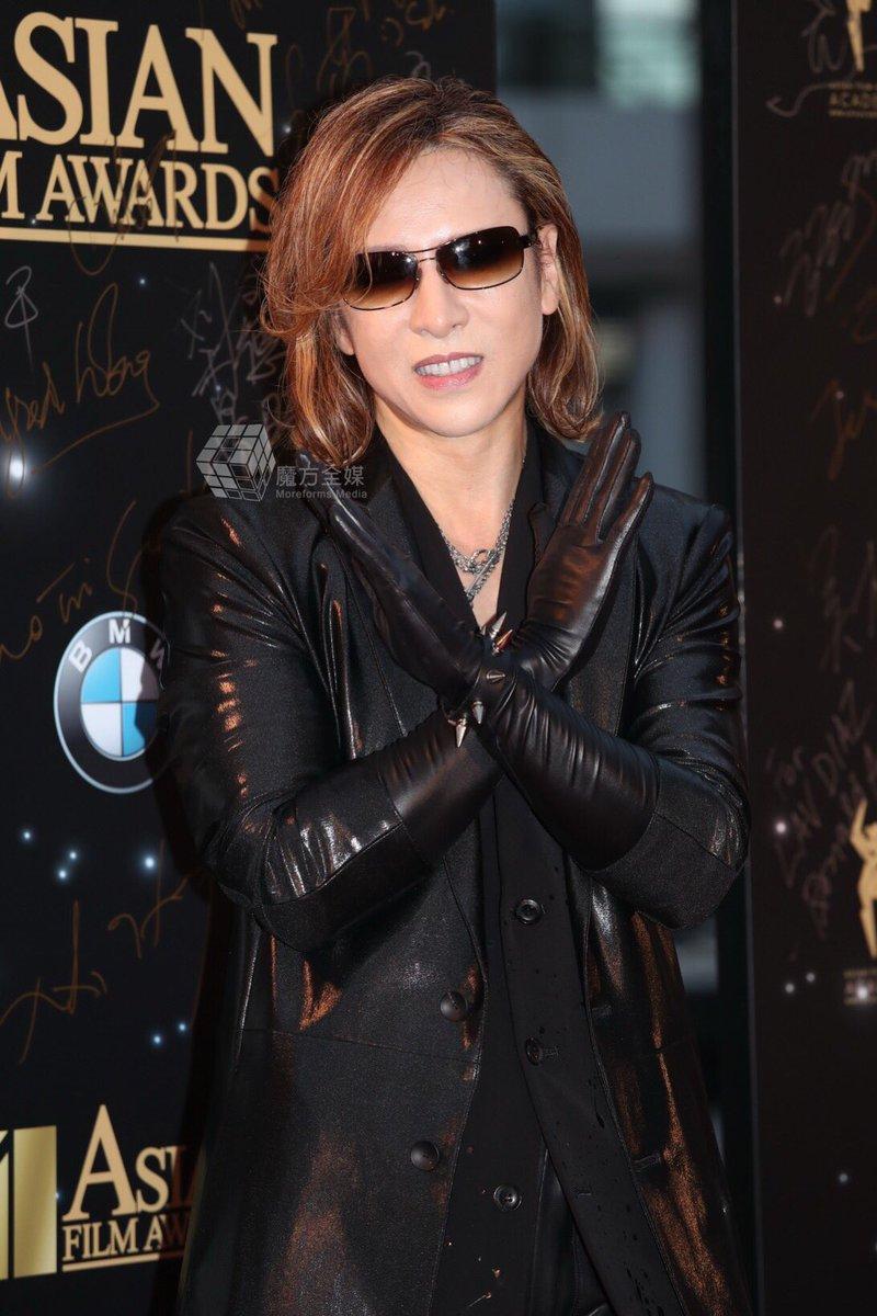 A closer look at YOSHIKI in 11th Asian Film Awards, We Are X!  #YOSHIKI #はやしよしき #HayashiYoshiki #Xjapan #林佳樹 #AsianFilmAwards #11AFA<br>http://pic.twitter.com/TS8tI1JtkE