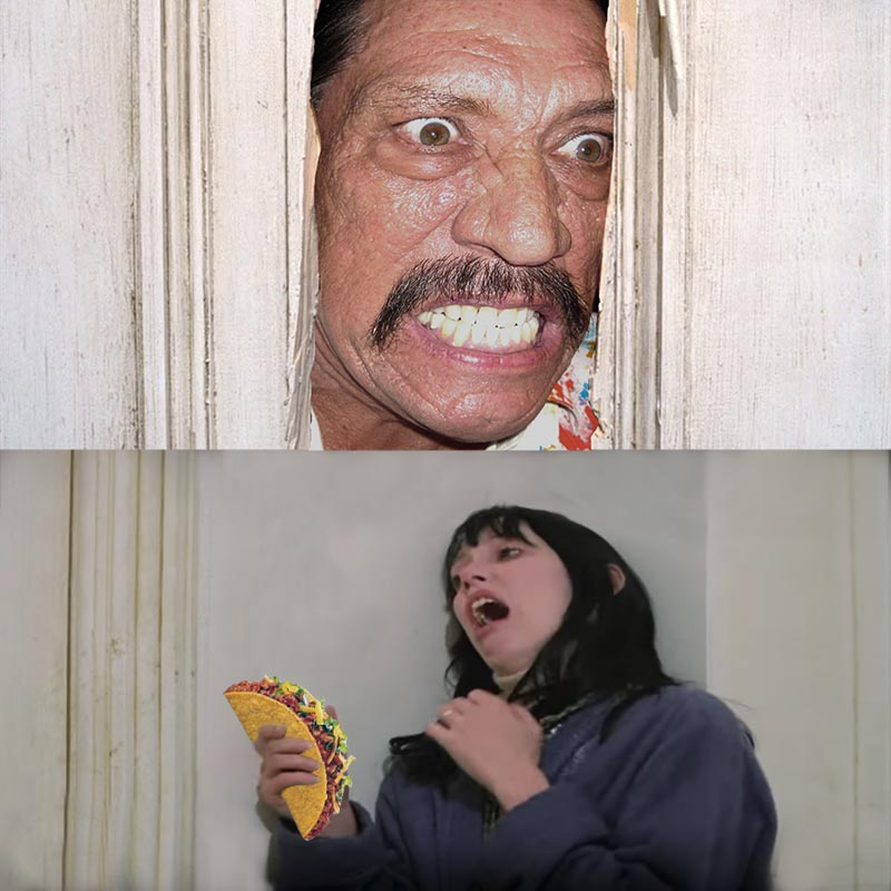 Here's Danny! #TheShining #TacoTuesday https://t.co/GoDHpKcGX3
