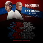 """Pre-sale is NOW!! Use passcode """"ei2017""""... All details at https://t.co/YfyhIIGvOO See you guys this summer!!! #EnriquePitbullTour"""