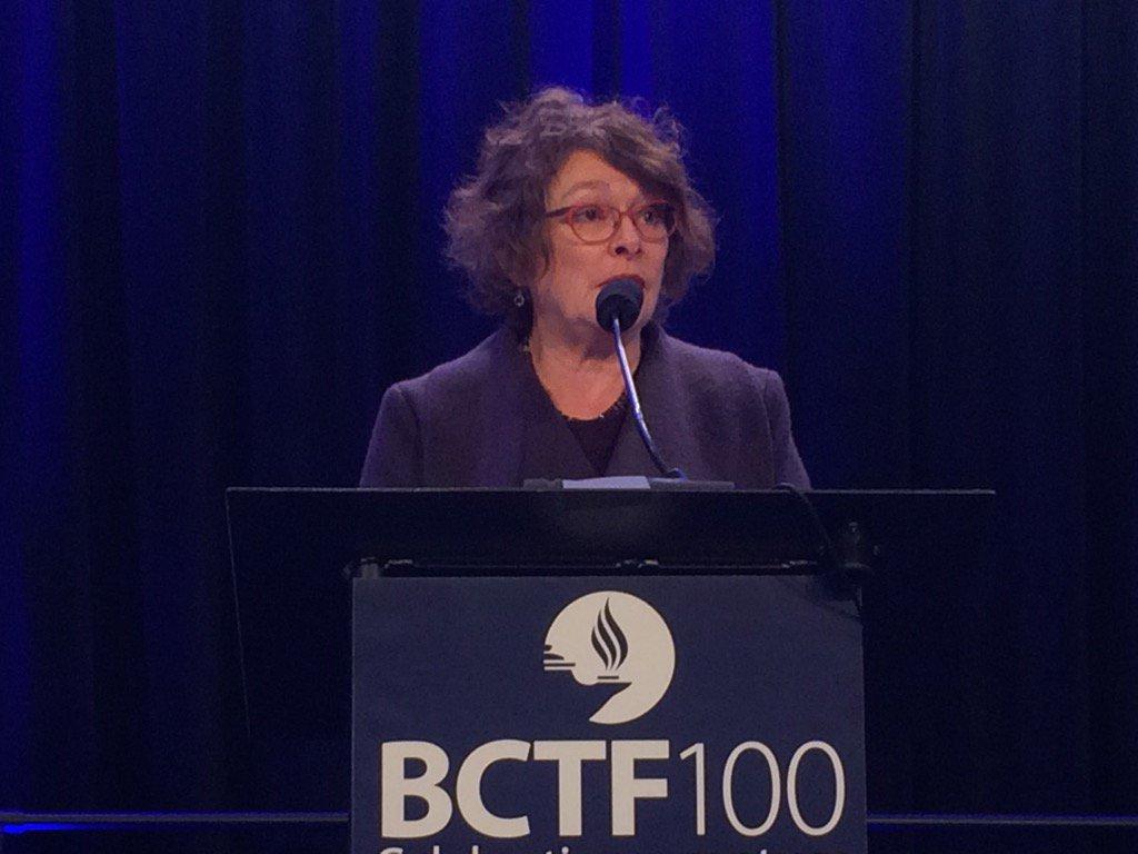 Jan Eastman is honoured w/ BC teachers' highest award for lifetime con...