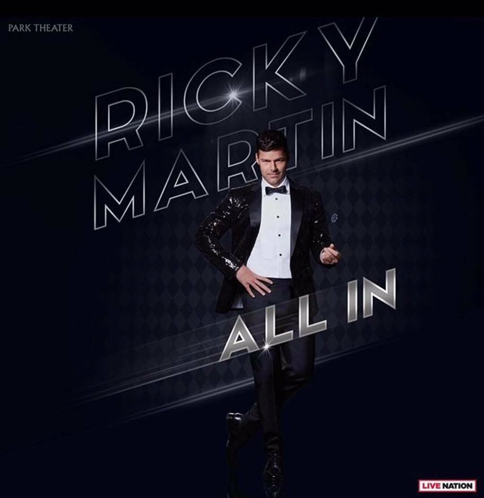 ricky martin on twitter all in lasvegas allin. Black Bedroom Furniture Sets. Home Design Ideas