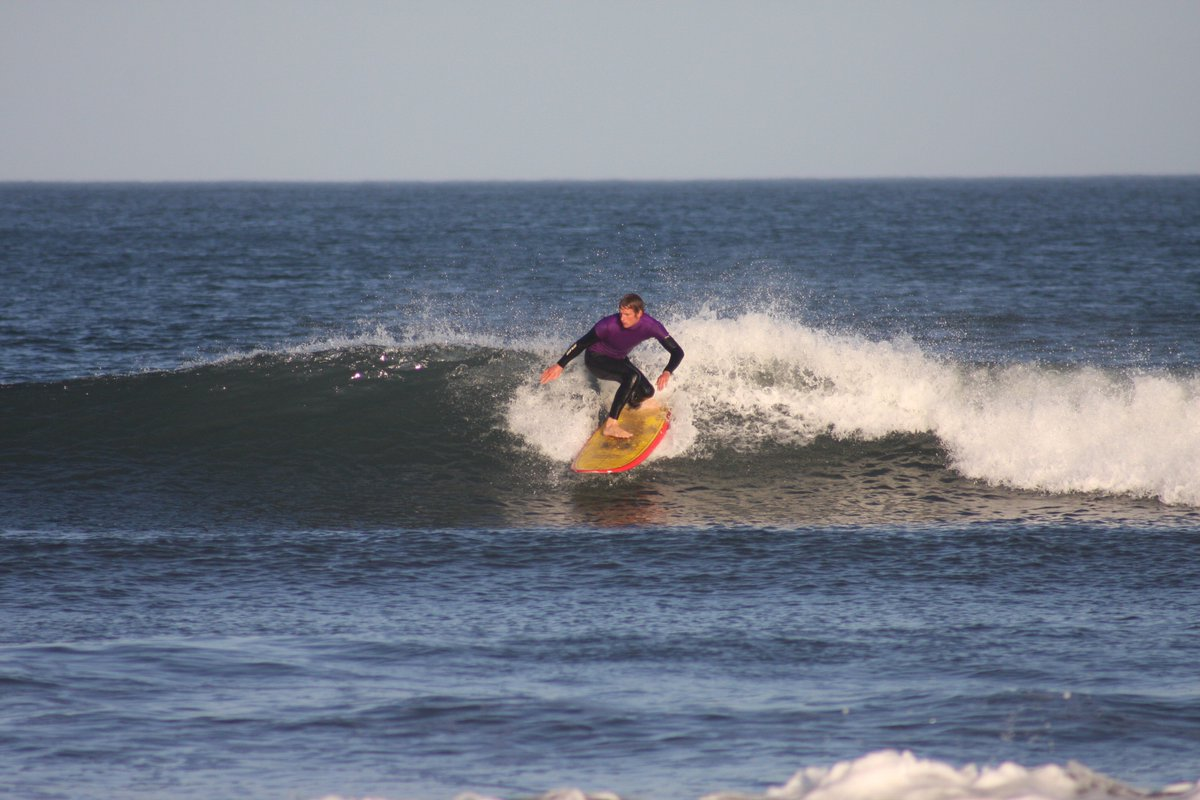 In which I preview this weekend's Lowland Longboard Competition and interview Dunbar uber-grom Mikey Wimbledon-Hall scotsman.com/lifestyle/outd…