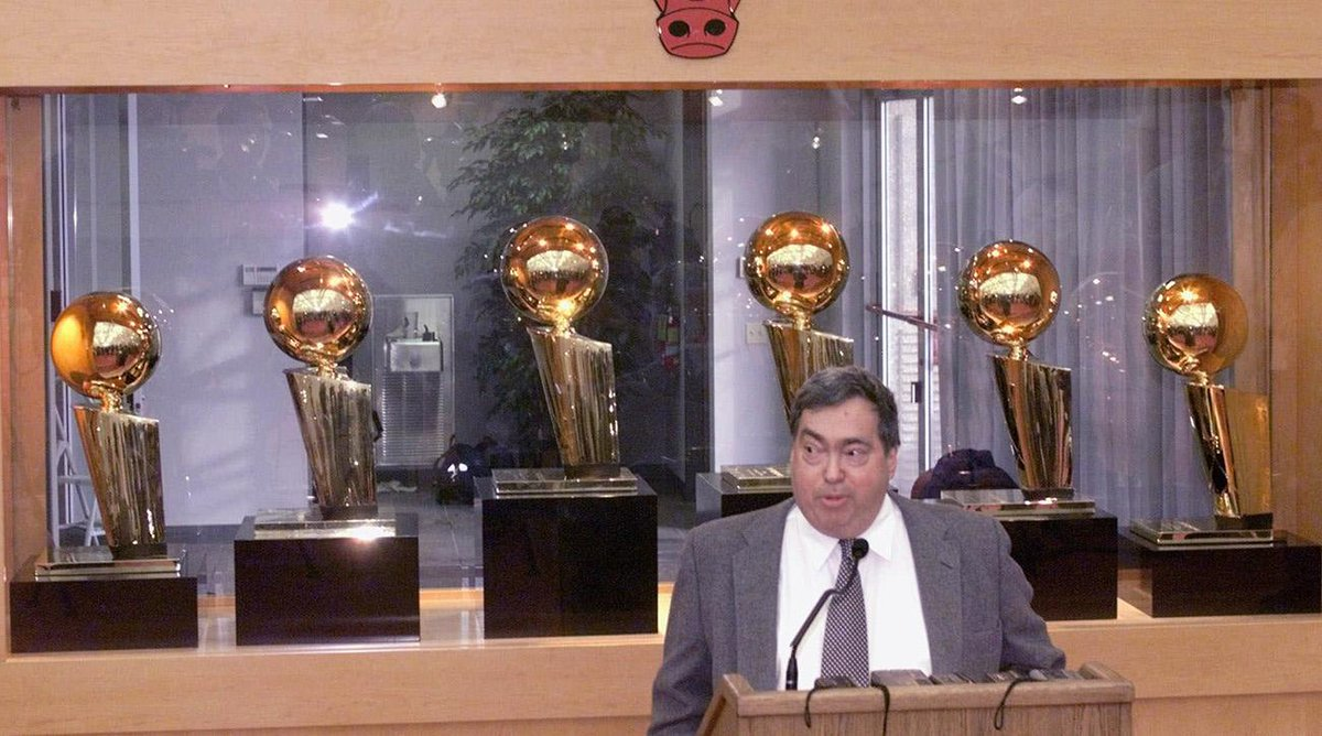 Report: Former Bulls GM Jerry Krause has died at 77 https://t.co/cYtaL...