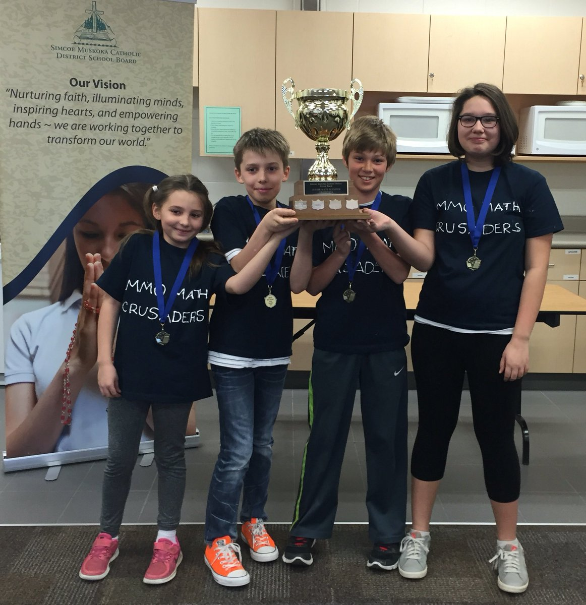 @SMCDSB_MMO had their math on today @SMCDSB Junior Math Olympics! Congratulations Champs #smcdsblearns https://t.co/OqNjZtYbXa