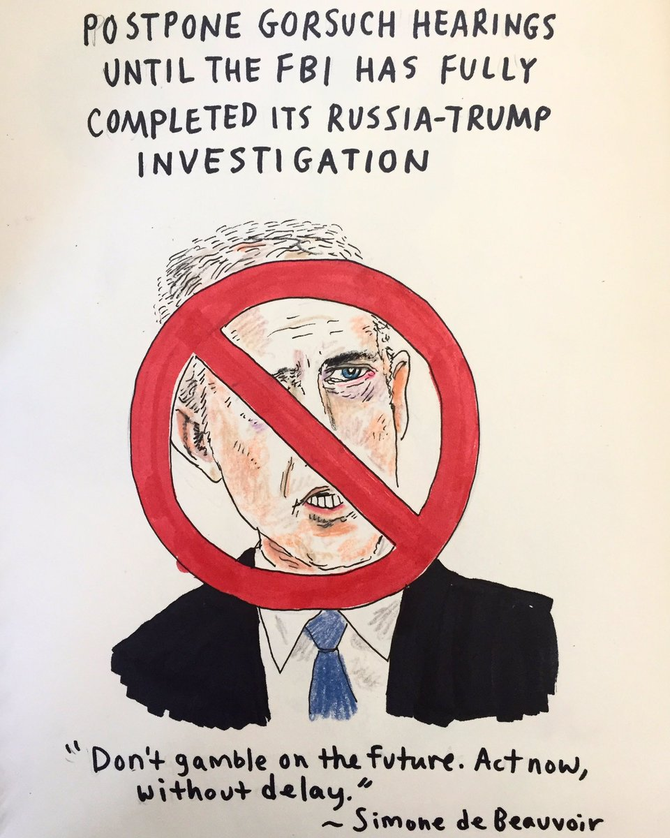 Put the brakes on this one. #thedailydon #resist #thisisnotnormal #scotus #neilgorsuch #impeachtrump<br>http://pic.twitter.com/MeQovAn7jv