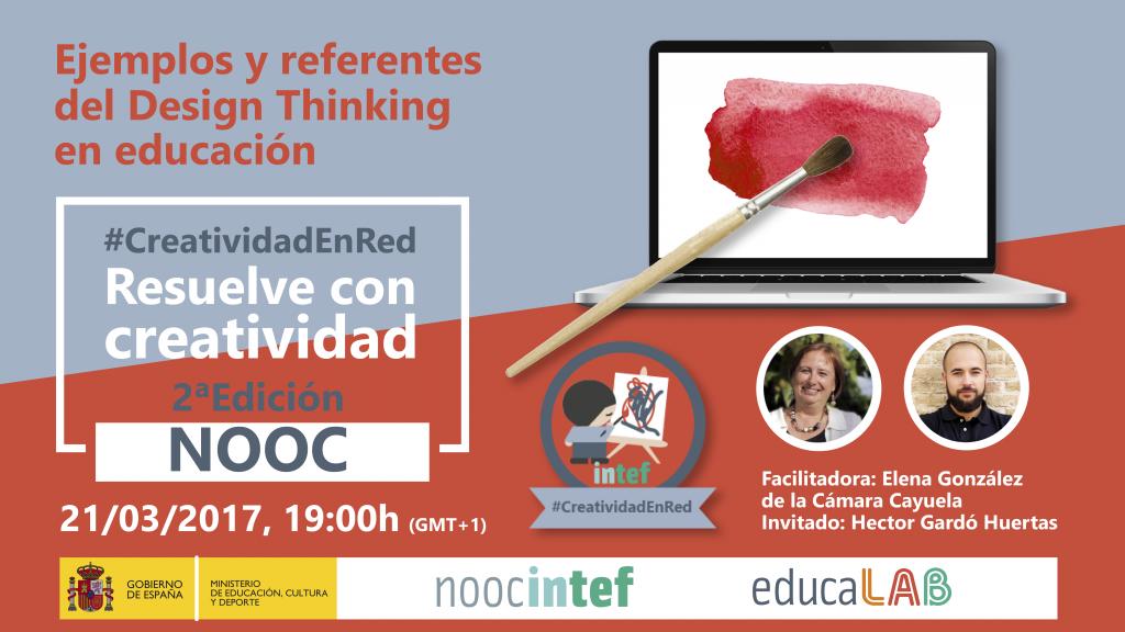 Gracias @egonzalezcamara @hgardo #DirectoINTEF #DesignThinking en #educación Ejemplos y referentes #CreatividadEnRed https://t.co/eOGAAYH1RE https://t.co/zDkYgOByh2