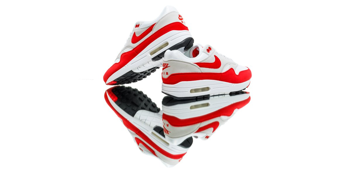 142f66beb0 ... promo code flight club on twitter nike air max 1 og anniversary red  shop 30 years