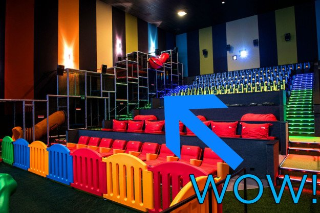 There's now a movie theater with a jungle gym inside of it bzfd.it/2mNyKUO