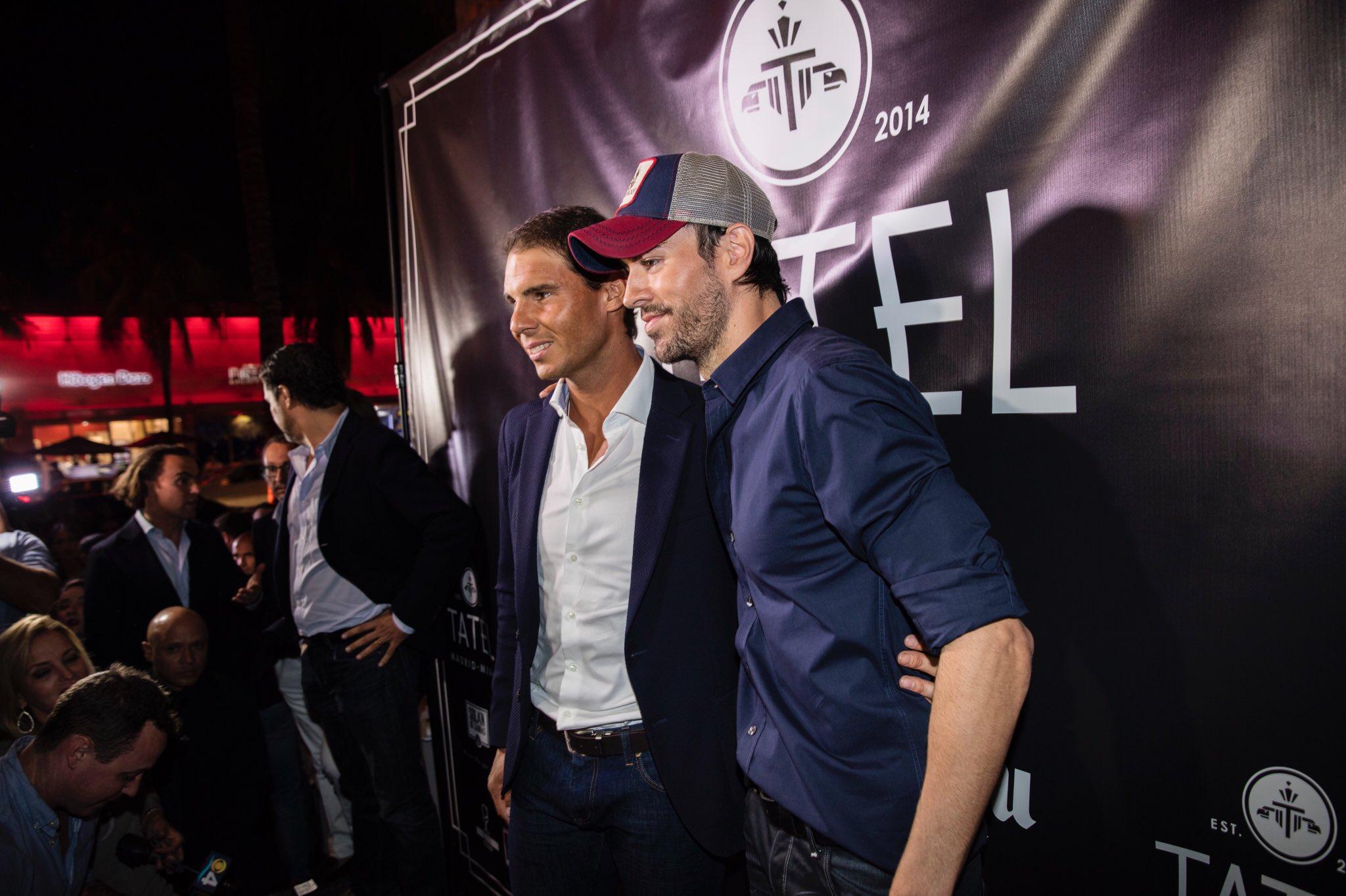 With the great @RafaelNadal at #TatelMiami. @TatelRestaurant  Photo: Alan Silfen https://t.co/nCA2kI8J5Y