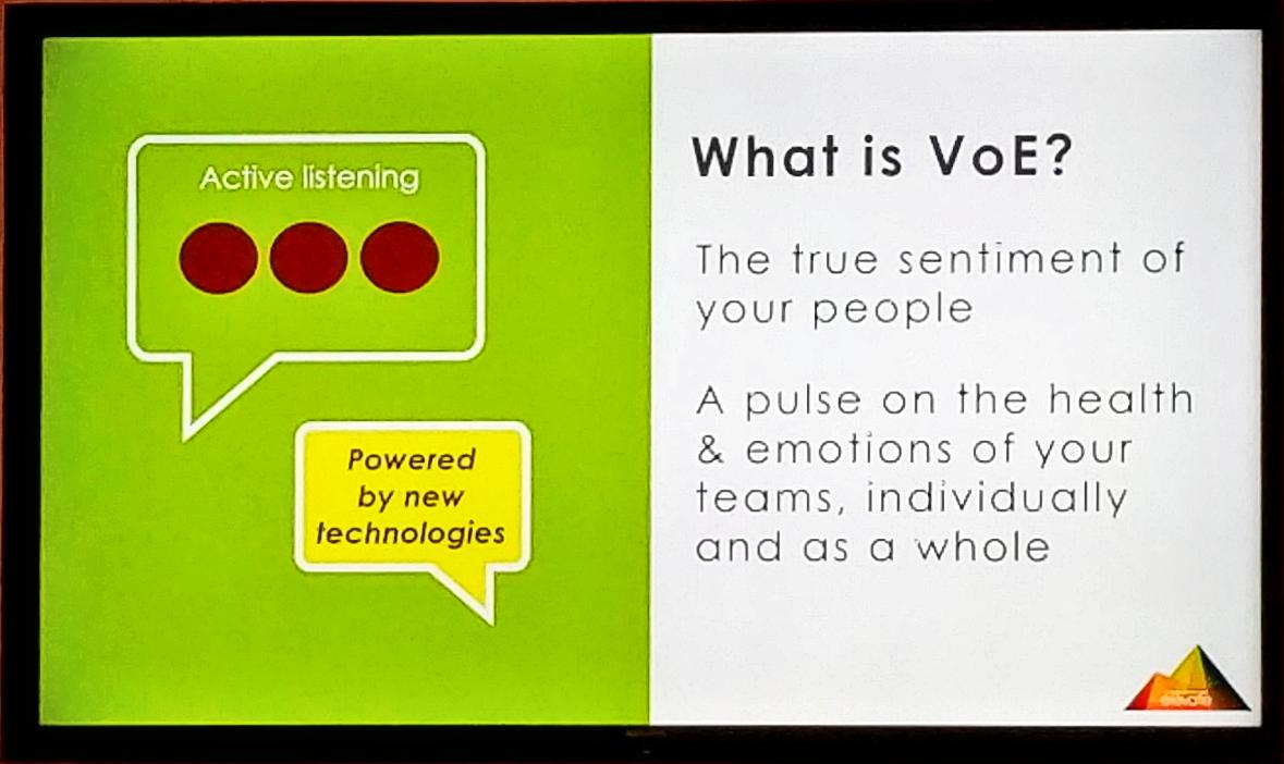 3 #HCM megatrends says @cecilehcm  #1 Voice of the employee. #VOE #UltiConnect https://t.co/PMqHJlyagl