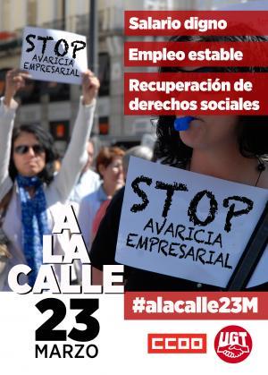 El 23 de marzo hay que movilizarse para exigir salarios dignos ya #ala...