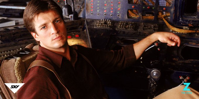 Happy birthday, Captain Tightpants! We hope you have a great day, NATHAN FILLION.