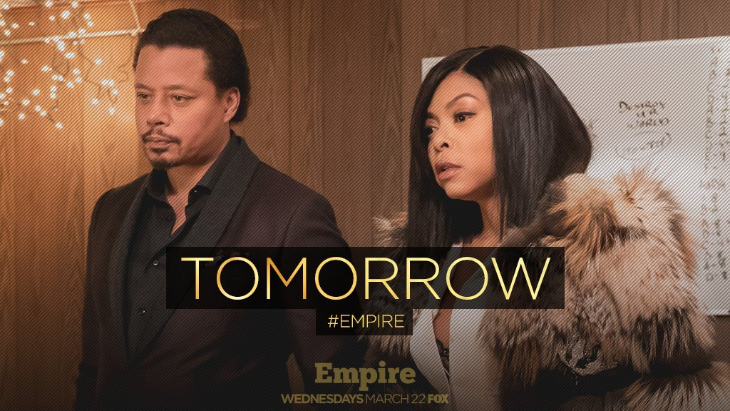 🚨 #EMPIRE RETURNS TOMORROW 🚨 https://t.co/7BNkltDgnE