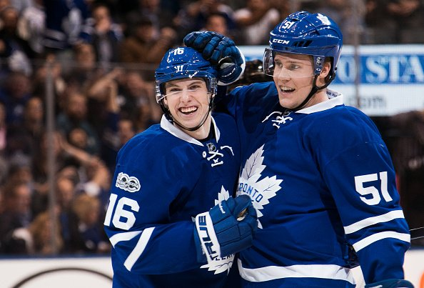 ROOKIE LEADERS, ASSISTS: Marner (TOR): 39 Werenski (CBJ): 35 Nylander...
