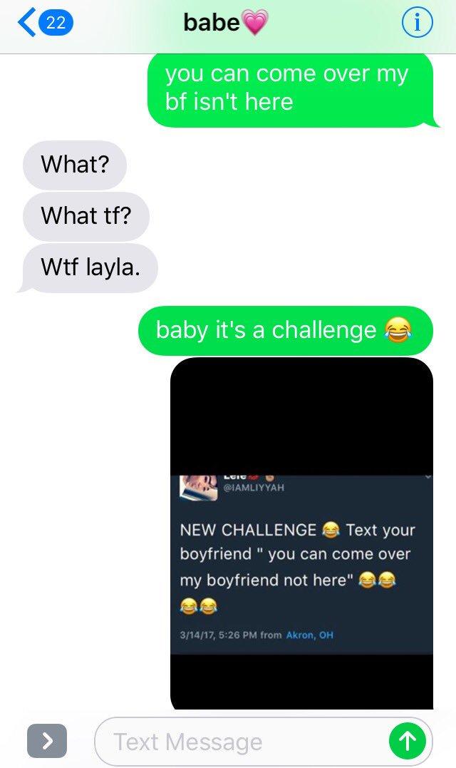 boyfriendchallenge hashtag on Twitter