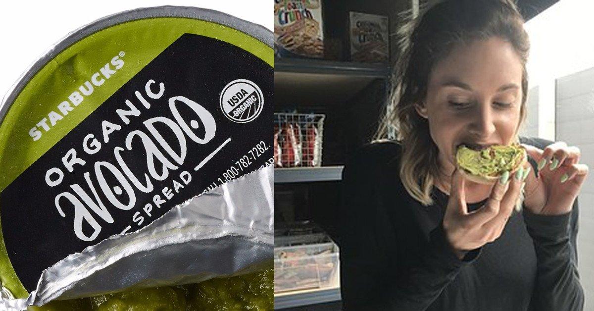 We tried Starbucks' new avocado spread so that no one else has to bzfd.it/2mNouMb