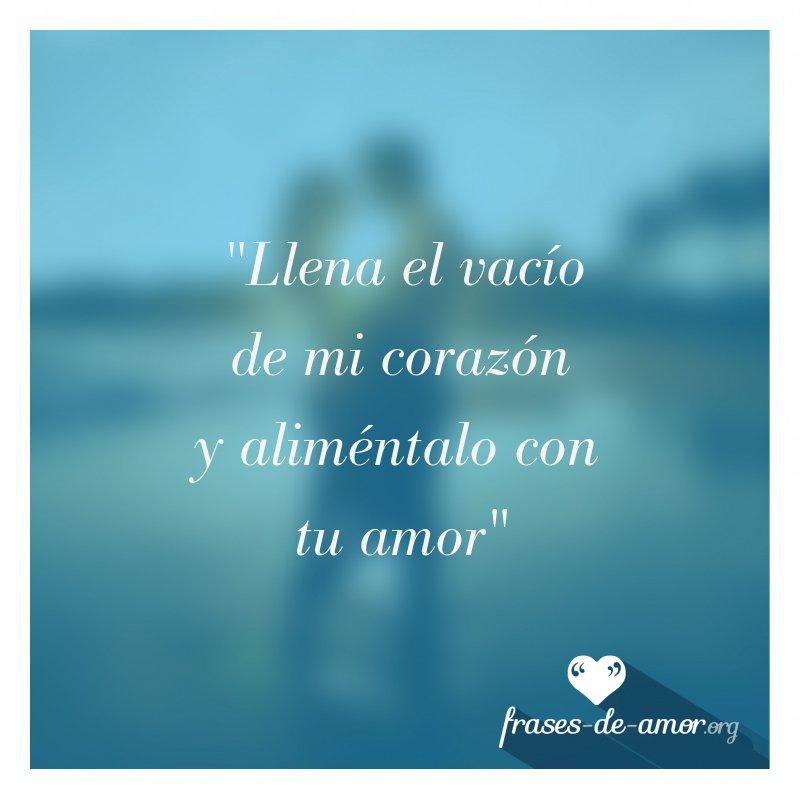 Frases De Amor Sur Twitter Llena El Vacío De Mi
