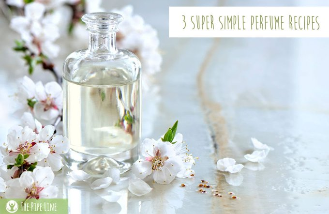 3 Super Simple Perfume Recipes
