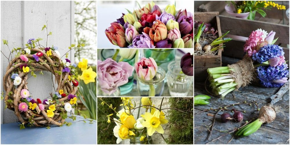 12 spring flower arranging ideas https://t.co/OUFUQfVt1q? https://t.co...