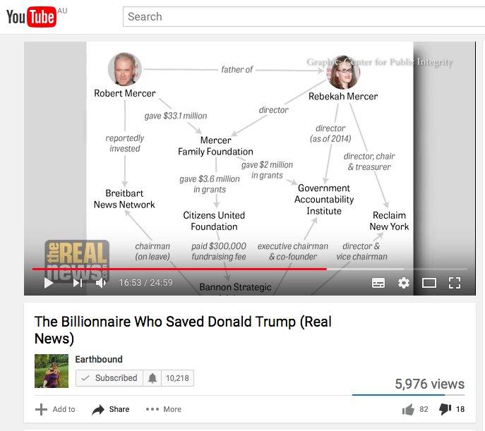 The Billionnaire Who Saved Donald Trump &amp; Why. (Real  News) via @YouTube #Mercer #SCL #Rentech #IRS #Taxes #McCain  https:// youtu.be/N5lmd2bTnL8  &nbsp;  <br>http://pic.twitter.com/CVztrWFW3u