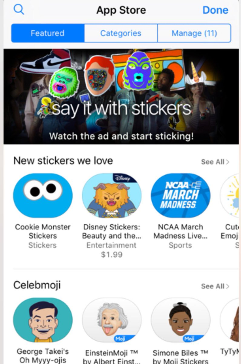 Look, I'm in first position on the App Store! Did you download me yet? All the cool kids did... #Ohmyyy-ojis