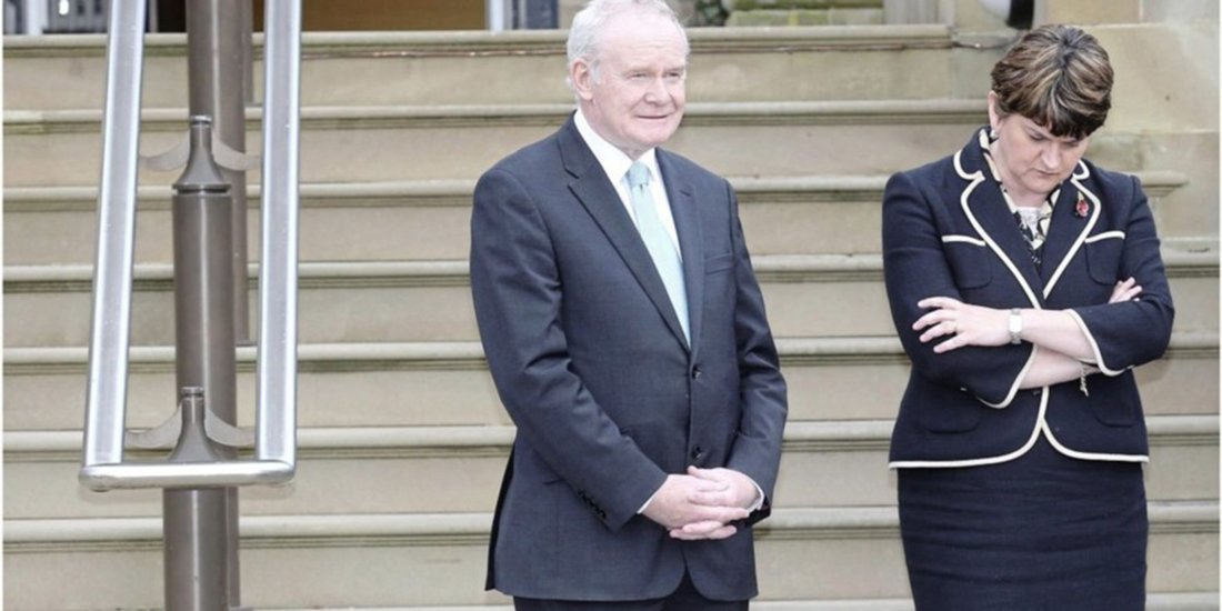 Arlene Foster undecided about attendance at Martin McGuinness' funeral...