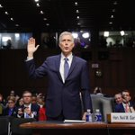 Judge Gorsuch was nothing short of amazing in today confirmation hearing! #GreatChoice 🇺🇸🇺🇸🇺🇸