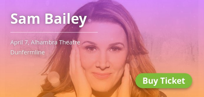 RT @GigsEdinburgh: 🎵 @Sambaileyreal coming to Dunfermline on Apr 7. Grab the tickets! 👉 → https://t.co/zApDubtkdb https://t.co/J4FmSZSqTF