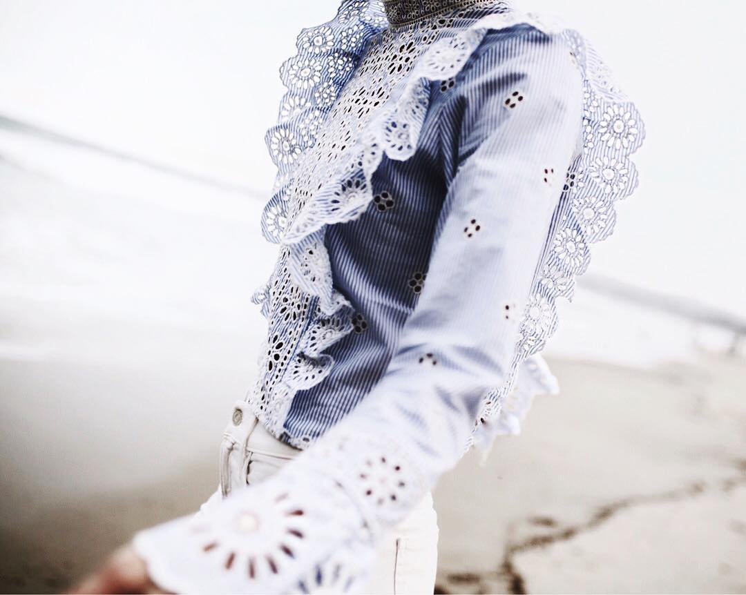 https:// goo.gl/WhL66z  &nbsp;   RUFFLE CROP #BLOUSE @happilygrey #ootd #blogger #fashionstyle #streetstyle #wiw #ootn #SummerStyle #SpringStyle<br>http://pic.twitter.com/DMNA9aKAdM