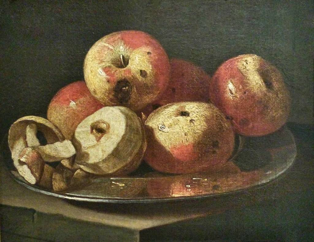 #anonymous #stilllife with apples and dish #17century #painting #museolia #laspezia https://t.co/jEOzlVfNa8