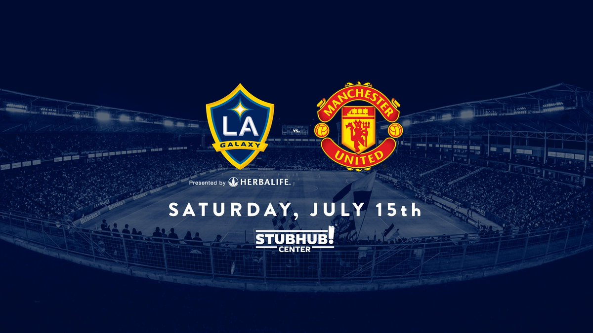 The Red Devils are coming to town. https://t.co/cIu4BSPEuS #ThisIsLA h...