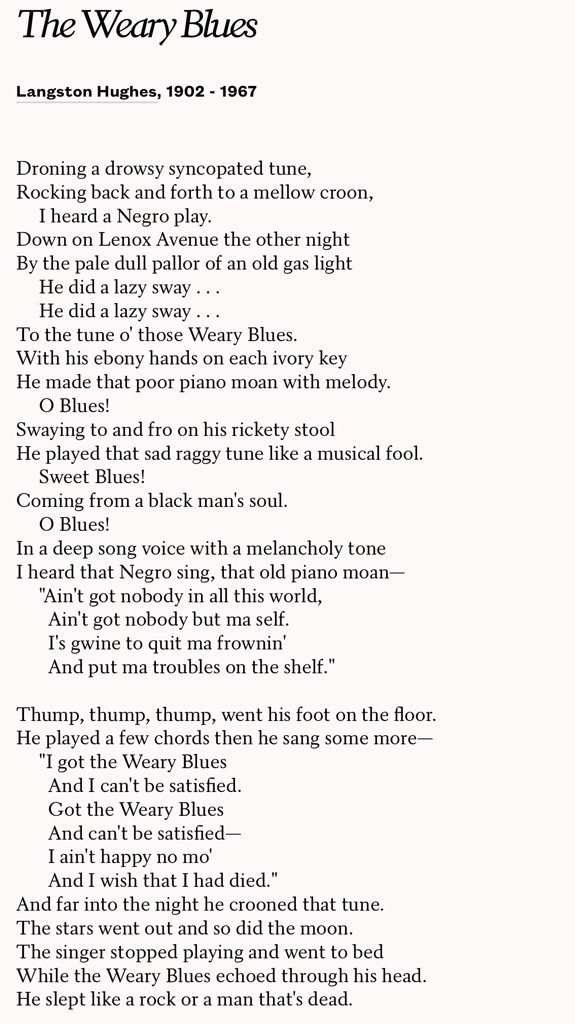 He did a lazy sway . . .      He did a lazy sway . . .  A poem by Lang...