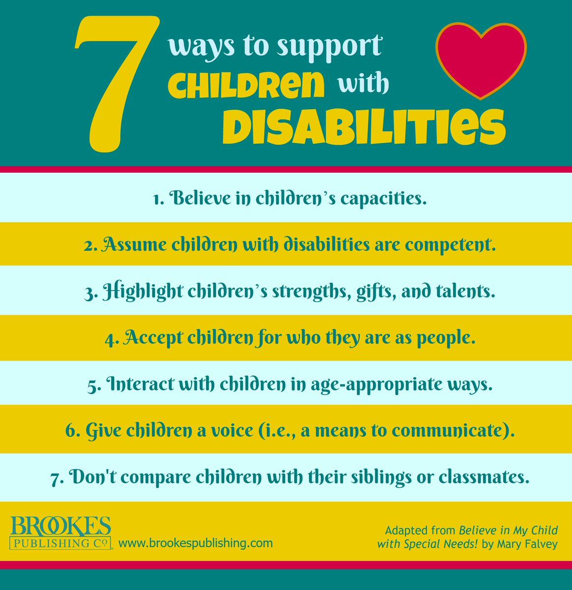 Brookes Publishing On Twitter 7 Ways To Support Children With