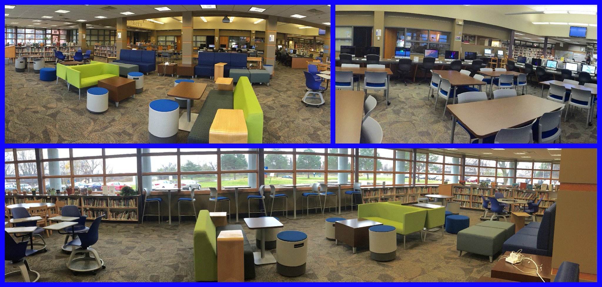 Here is our flexible space at North Junior High. (Come see it in person on 4-8!) #mnitem https://t.co/RxoAASuStU