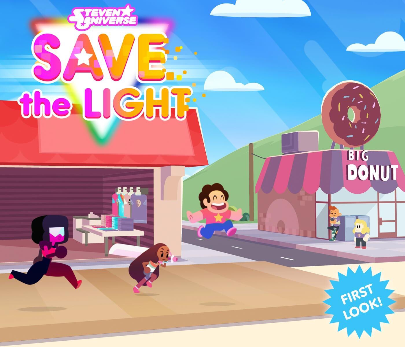 RT @Grumpyface: @EstelleDarlings is awesome in #StevenUniverse #SaveTheLight game! Great working with you! 😎 https://t.co/RagvLChOsr