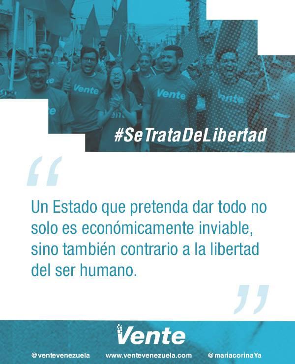 #SeTrataDeLibertad | Para una sociedad más libre, necesitamos un Estad...
