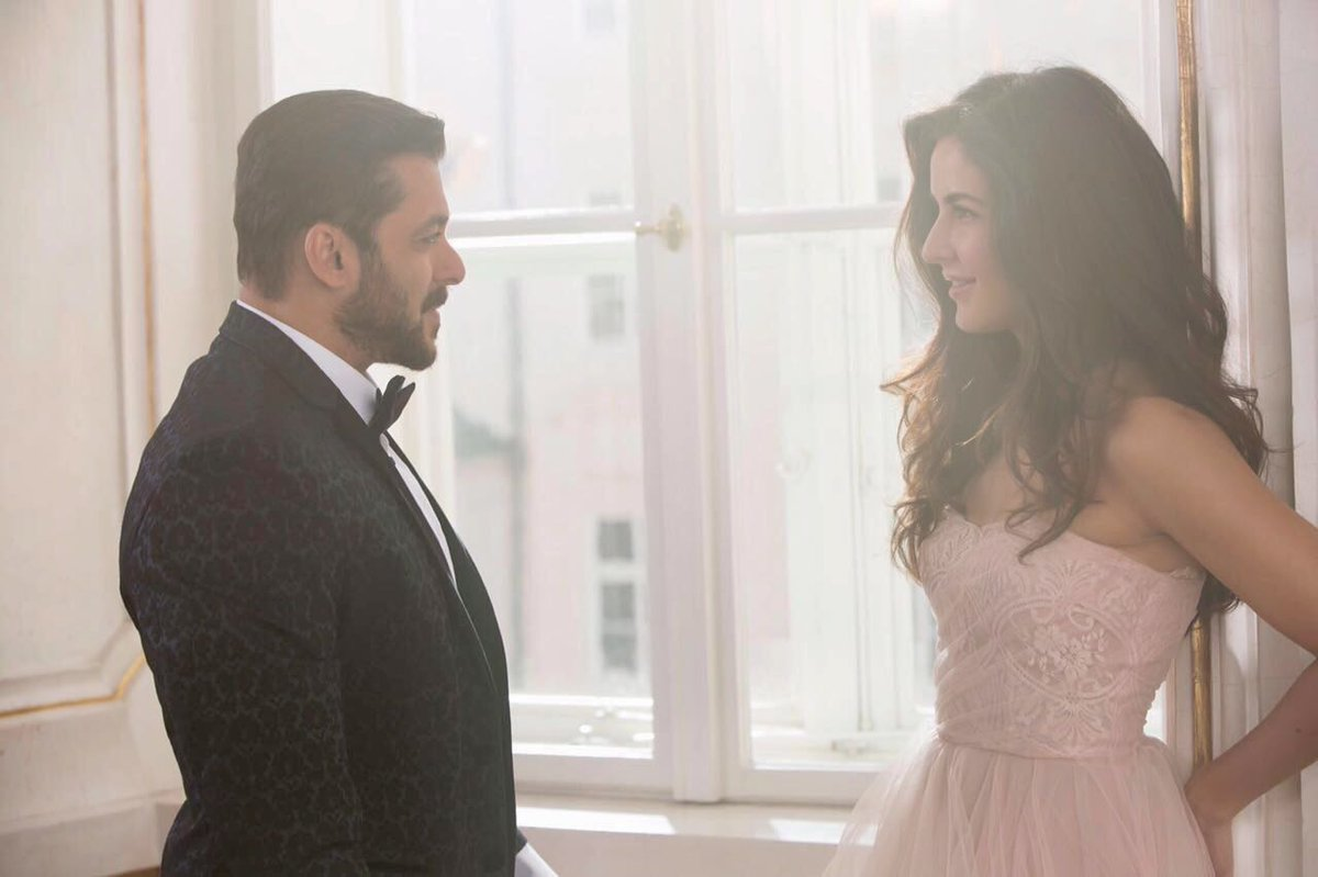 BACK TOGETHER , IN TIGER ZINDA HAI .