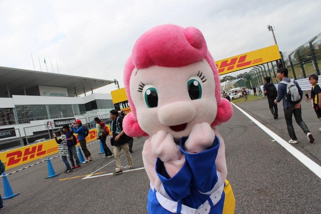 3日間☆ …いや5日間楽しみなF1日本グランプリ。 そんなチララの写真、、、 載せちゃう♪  なぜかぶりっ子ポーズ🍓🍓🍓 https://t...