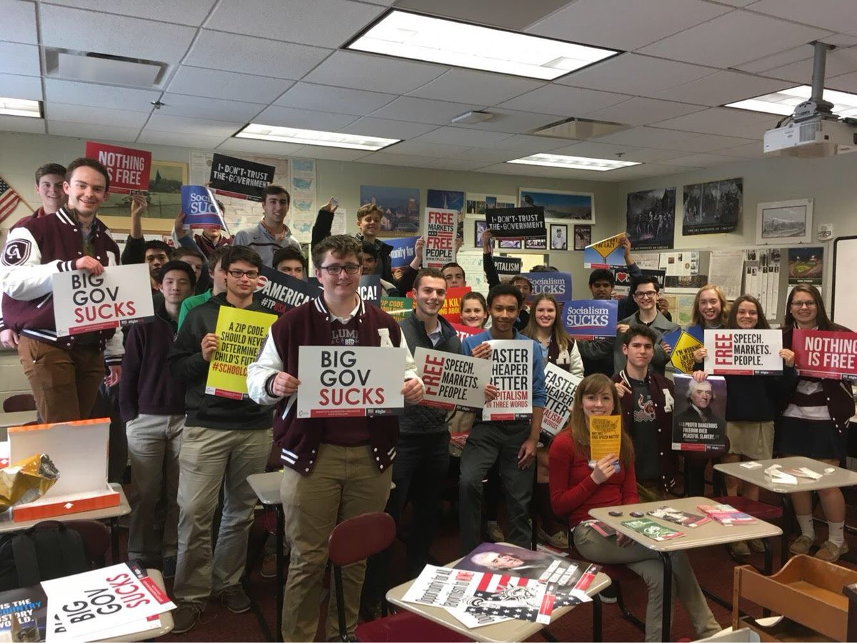 Join @TPUSA today! The movement is growing to a school near you!! TPUSA.com/GetInvolved