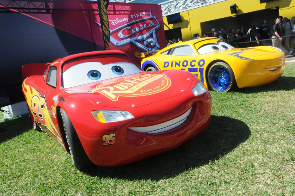 'Road to the Races Is Bringing Life-Size #Cars3 Characters to You!' ht...