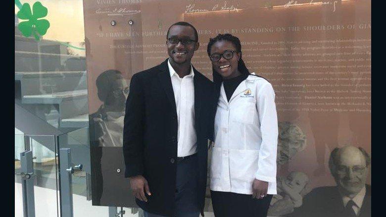Johns Hopkins has its first black female neurosurgeon resident https:/...