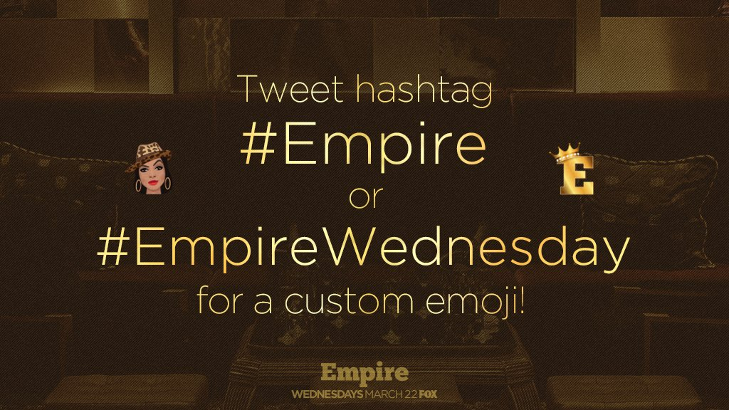 It's #EmpireWednesday! Use the #Empire hashtag for a special emoji and...