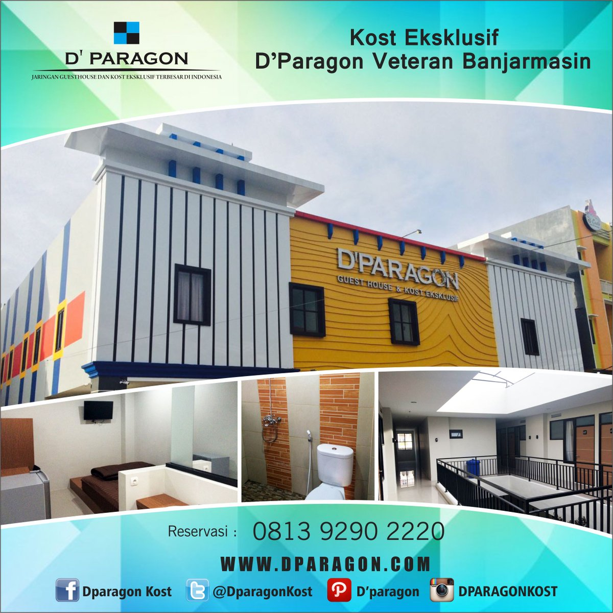 d paragon kost on twitter available room for dparagonkost veteran banjarmasin info booking 081392902220 grab it fast guys https t co opmlzlnktl