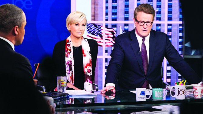#MorningJoe hosts on Trump and why 'everyone' should ban Kellyanne Con...