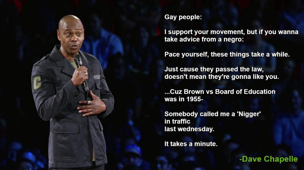 Dave Chappelle is truly one of the greatest of all time WELCOME BACK h...