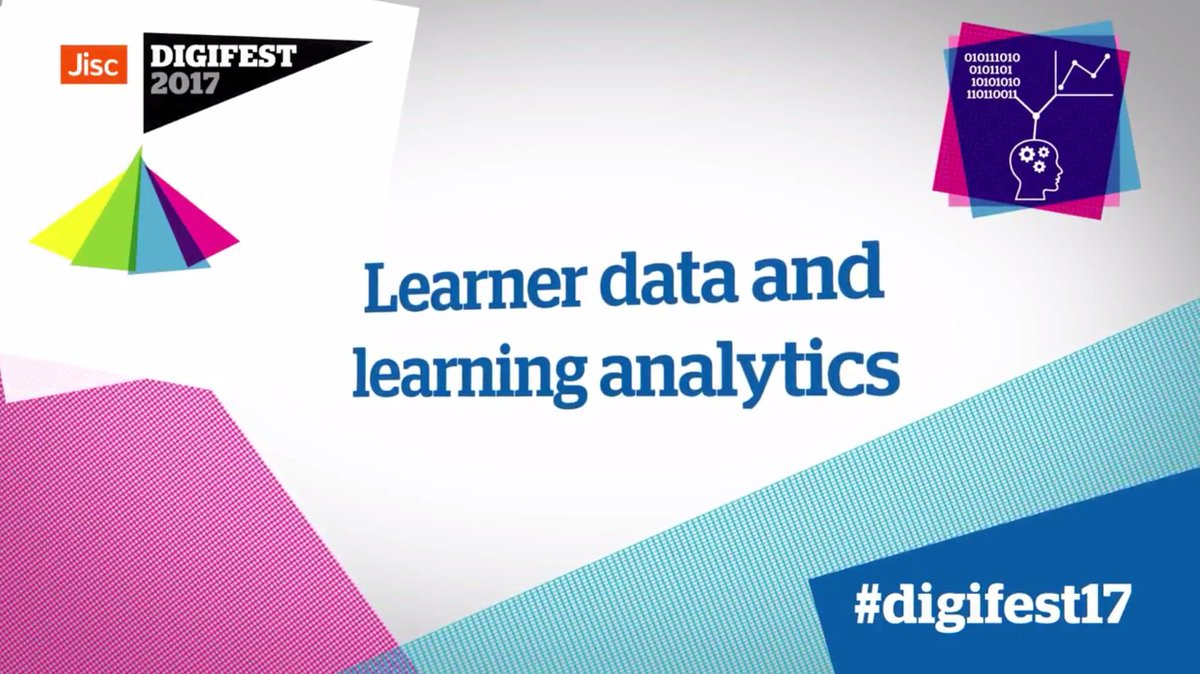 Learner data and #learninganalytics - conversations from @Jisc's #digi...